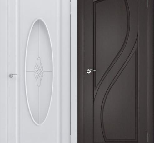 Двери ПВХ (Зафлекс)