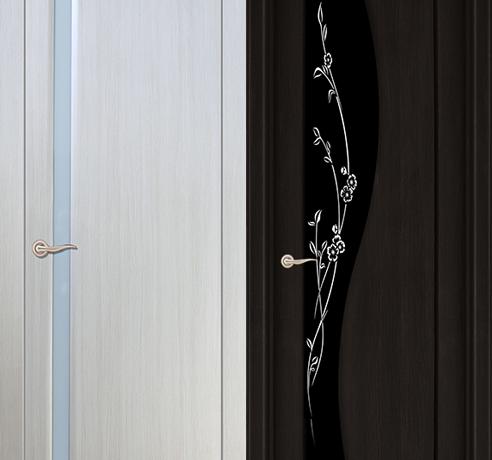 Двери ПВХ (Триплекс)