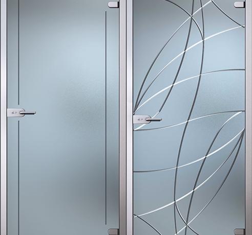 Двери стеклянные (Серия Иллюжн)
