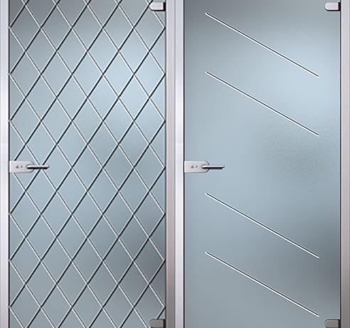 Двери стеклянные (Серия Классик)