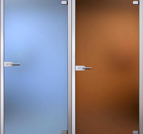 Двери стеклянные (Серия Лайт)