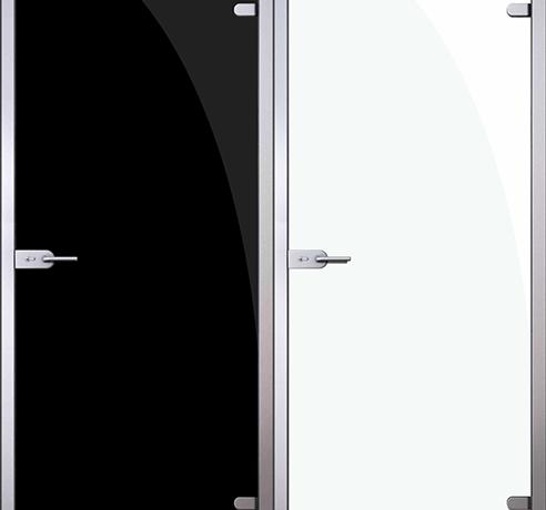 Двери стеклянные (Серия Триплекс)