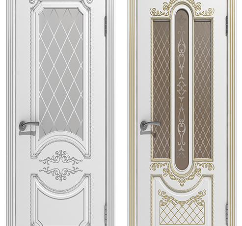 Двери эмаль (окрашенные) Люкс