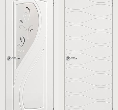 Двери эмаль (окрашенные) - Эстэль
