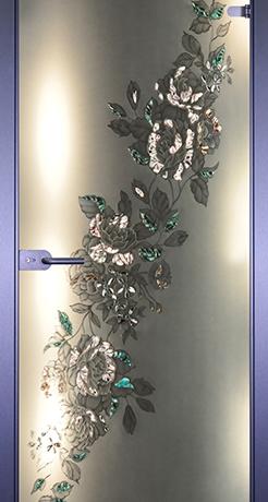 Диагональ, стекло матовое