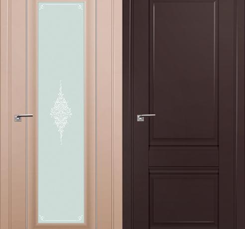 Двери экошпон (Серия U - классика)