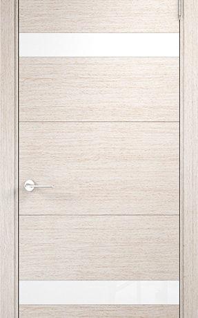 Турин 05 Дуб бежевый вералинга, белый лакобель