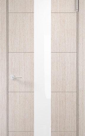 Турин 14 Дуб бежевый вералинга, белый лакобель